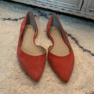 Marc Fisher Point Toe Flats